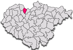 Commune Şamşud in Sălaj County