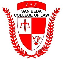 San Beda College of Law logo