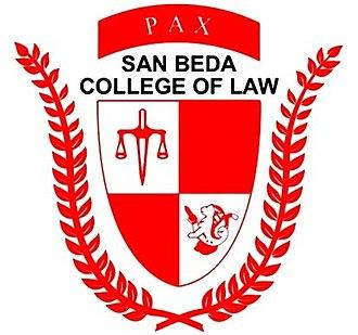 San Beda College of Law - San Beda College of Law logo