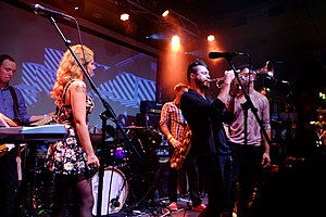 San Fermin (band) - San Fermin performing at SXSW in 2014