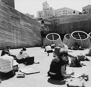 Paffard Keatinge-Clay - San Francisco Art Institute roof.
