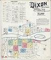 Sanborn Fire Insurance Map from Dixon, Lee County, Illinois. LOC sanborn01827 003-1.jpg