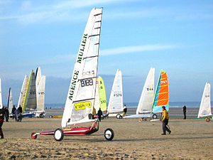 Oostduinkerke - Image: Sand Yachting 0016 7.web
