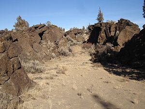 Central Oregon - The Oregon Badlands Wilderness.