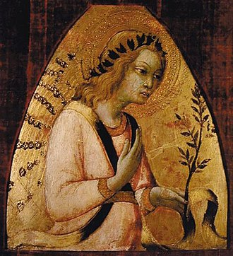Sano di Pietro - Image: Sano di Pietro Angel of the Annunciation