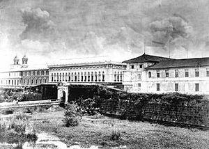 Intramuros - Puerta de Santa Lucia in 1873