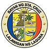 Official seal of Bayan ng Santa Cruz, LagunaMunicipality of Santa Cruz, Laguna