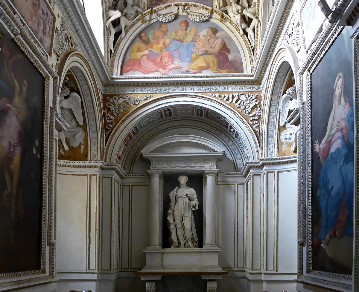 theodoli chapel  santa maria del popolo