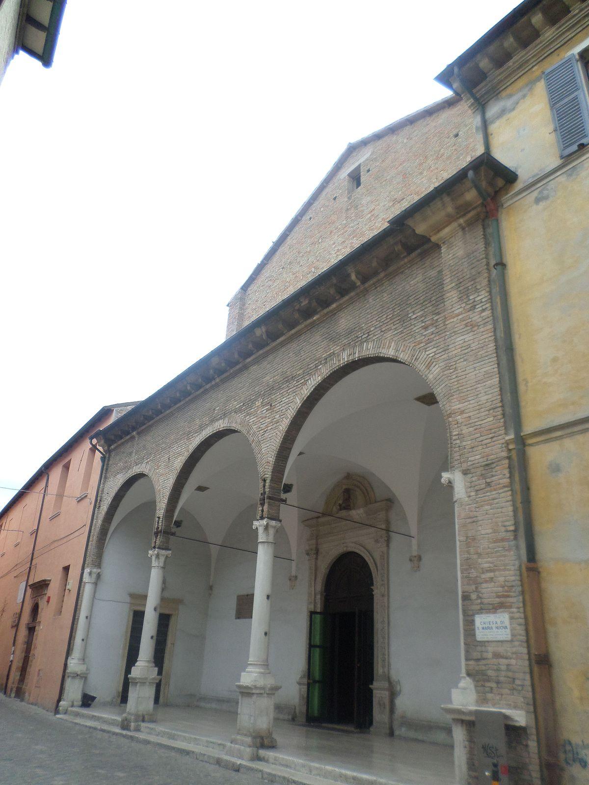 Chiesa Di Santa Maria Nuova Fano Wikipedia