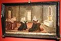 Santi di tito (ambito), ex-voto di monna nanna verzoni in preghiera davanti al crocifisso, 1594 (prato, pal. spedalinghi).jpg