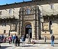 Santiago-Escudo fachada Hostal Reyes Católicos 00.jpg