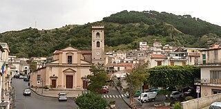 Saponara Comune in Sicily, Italy