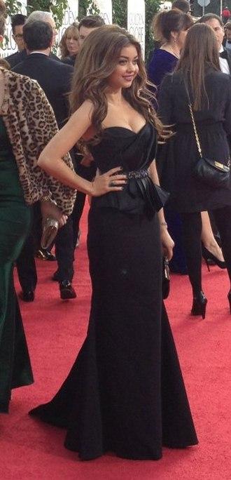Sarah Hyland - Hyland at the 2013 Golden Globe Awards