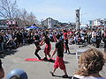 Sardine Family Circus performing at Fisherman's Wharf 2010-03-14 1.JPG