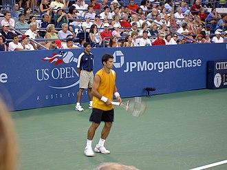 Sargis Sargsian - Image: Sargis Sargisian US Open 2004