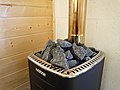 Sauna stones on heater 20170625.jpg