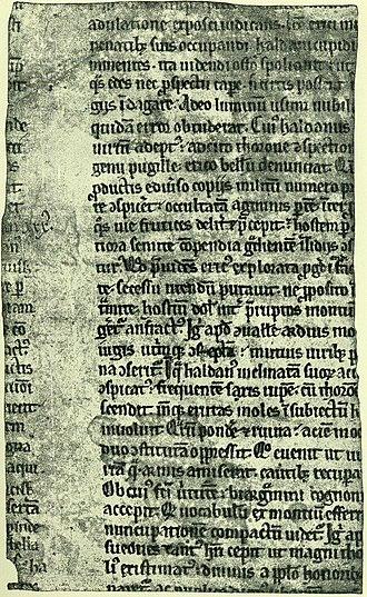Kall-Rasmussen Fragment - Image: Saxo kallfrag 1 back 001