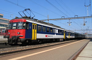 SBB-CFF-FFS RBe 540 - Modernized RBe 540 multiple unit
