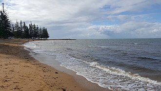 Scarborough Beach at Scarborough on the Redcliffe Peninsula Scarborough Beach, Redcliffe.jpg