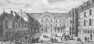 Bourbon-Penthièvre - The Château de Blois by Jacques Rigaud.