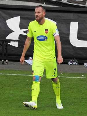 Marc Schnatterer - Schnatterer playing for 1. FC Heidenheim in 2017