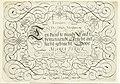 Schrijfvoorbeeld Tooneel Der loflijcke Schrijfpen (..) (serietitel op object), RP-P-1937-1849.jpg