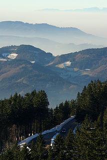 Northern Black Forest German forest