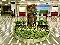 Sculptures inside 2nd Terminal of Delhi Airport 2.jpg