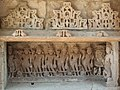 Sculptures of Navagraha in Vahu-ni Vav, Kaleshwari, Gujarat, India.jpg
