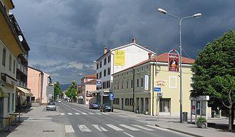 Sežana - Image: Sežana,glavnacesta