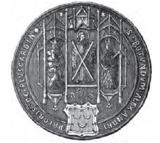 Pluscarden Abbey - Seal of Alexander Seton as Prior of Pluscarden