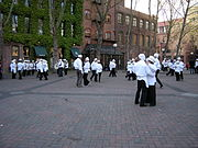 Seattle - Art Happening in Occidental Park 01.jpg