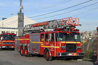 Seattle Fire Department - Seattle Fire Department Ladder 6