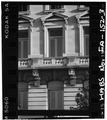 Second story window,north elevation - Municipal Building, East First and Locust Streets, Des Moines, Polk County, IA HABS IOWA,77-DESMO,13-3.tif