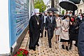 Secretary Blinken Participates in a Donbas Conflict Memorial Flower Laying With Ukrainian Foreign Minister Dmytro Kuleba and Metropolitan Epiphaniy (51170050427).jpg