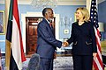 Secretary Clinton Shakes Hands With Sudanese Foreign Minister Karti (5391195856).jpg