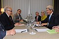 Secretary Kerry Meets with UN Special Envoy Brahimi in Geneva (9733058102).jpg