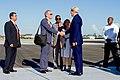 Secretary Kerry is Greeted by Ambassador DeLaurentis Upon Arrival in Havana (20380833698).jpg