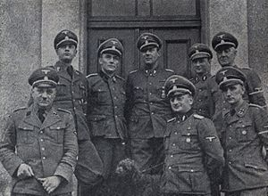 Selbstschutz - Selbstschutz chiefs ready for SS-Aktionen in Gdańsk Pomerania