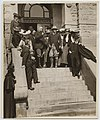 Senator Francis Warren Presenting Spurs to President Theodore Roosevelt (15250788815).jpg