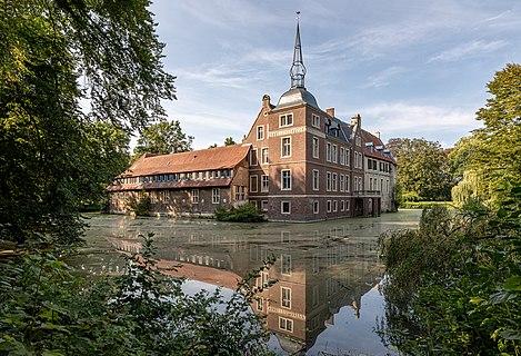 Senden water castle, Senden, North Rhine-Westphalia, Germany