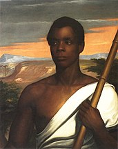 Sengbe Pieh, leader of the uprising (portrait from 1839)