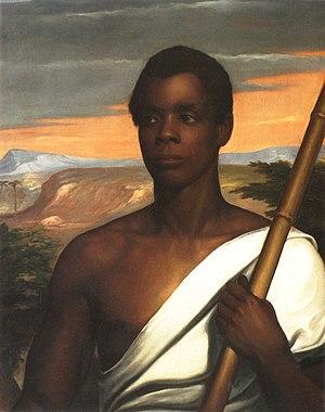 Joseph Cinqué - Portrait by Nathaniel Jocelyn, 1840