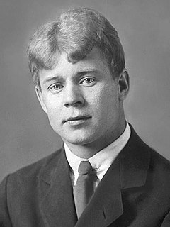 Sergei Yesenin Russian poet