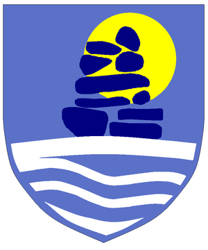 1954–55 Greenlandic Football Championship - Image: Sermersooq coat of arms