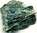 Serpentinite (Deer Lake Peridotite, late Neoarchean; Ropes Gold Mine, Upper Peninsula of Michigan, USA) (16755884589).jpg