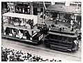 Sesquicentenary Celebrations Street Parade Using Trams (12076846183).jpg