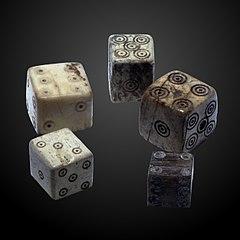 set of Roman-era dice