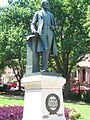 Severn Teackle Wallis statue, Mount Vernon Place, Baltimore, MD.jpg