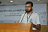 Shabab Mustafa Speaks - Growth and Progress of Bangladeshi Wikimedia Community - Bengali Wikipedia 10th Anniversary Celebration - Daffodil International University - Dhaka 2015-05-30 1623.JPG